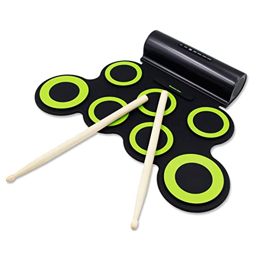 Paxcess Electronic Roll Up Drum Practice Pad