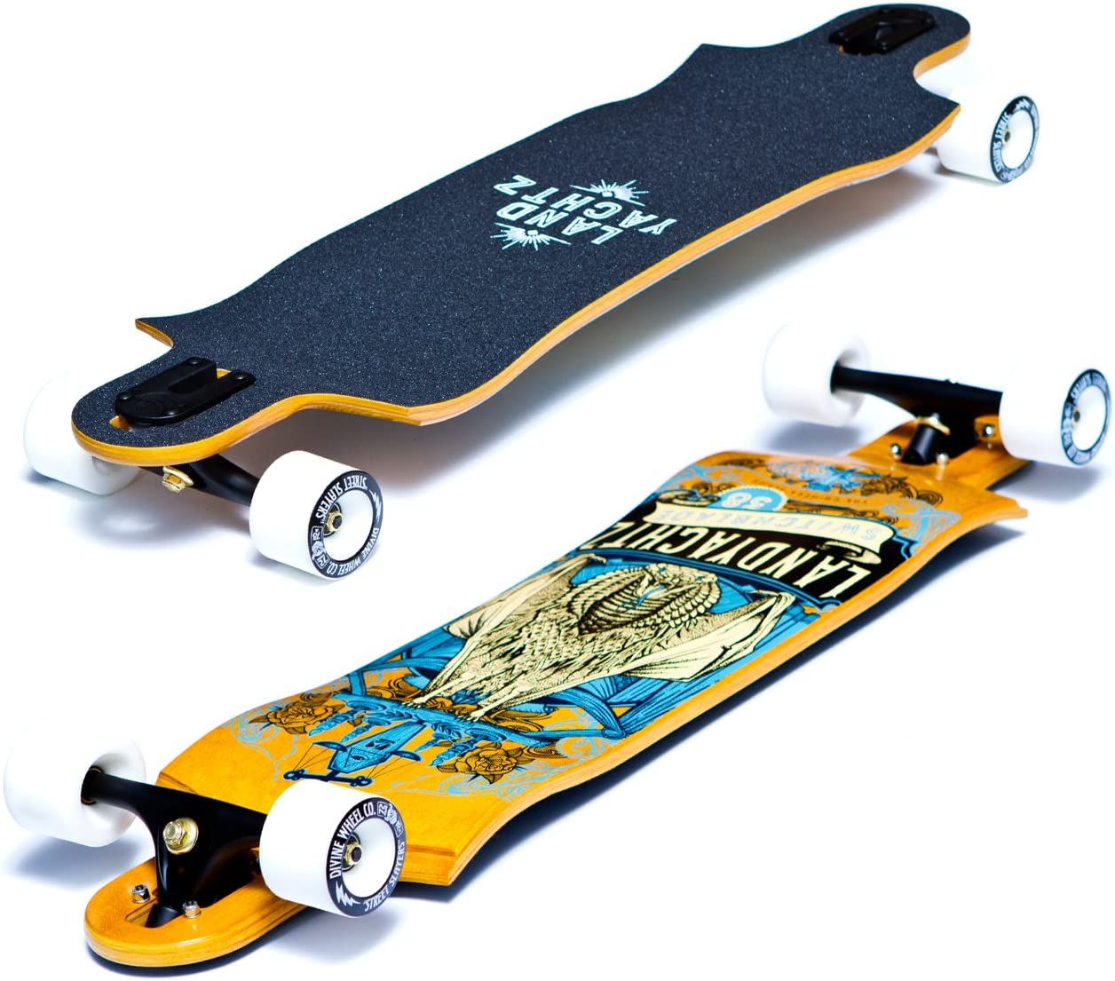 Landyachtz Switchblade 38 Complete Longboard 2016 Graphic