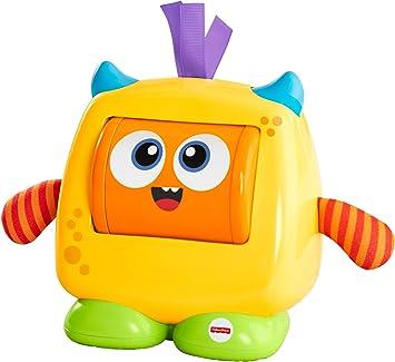 Oferta amazon: Fisher-Price Monstruito caritas divertidas, juguete bebé +6 meses (Mattel DRG13)