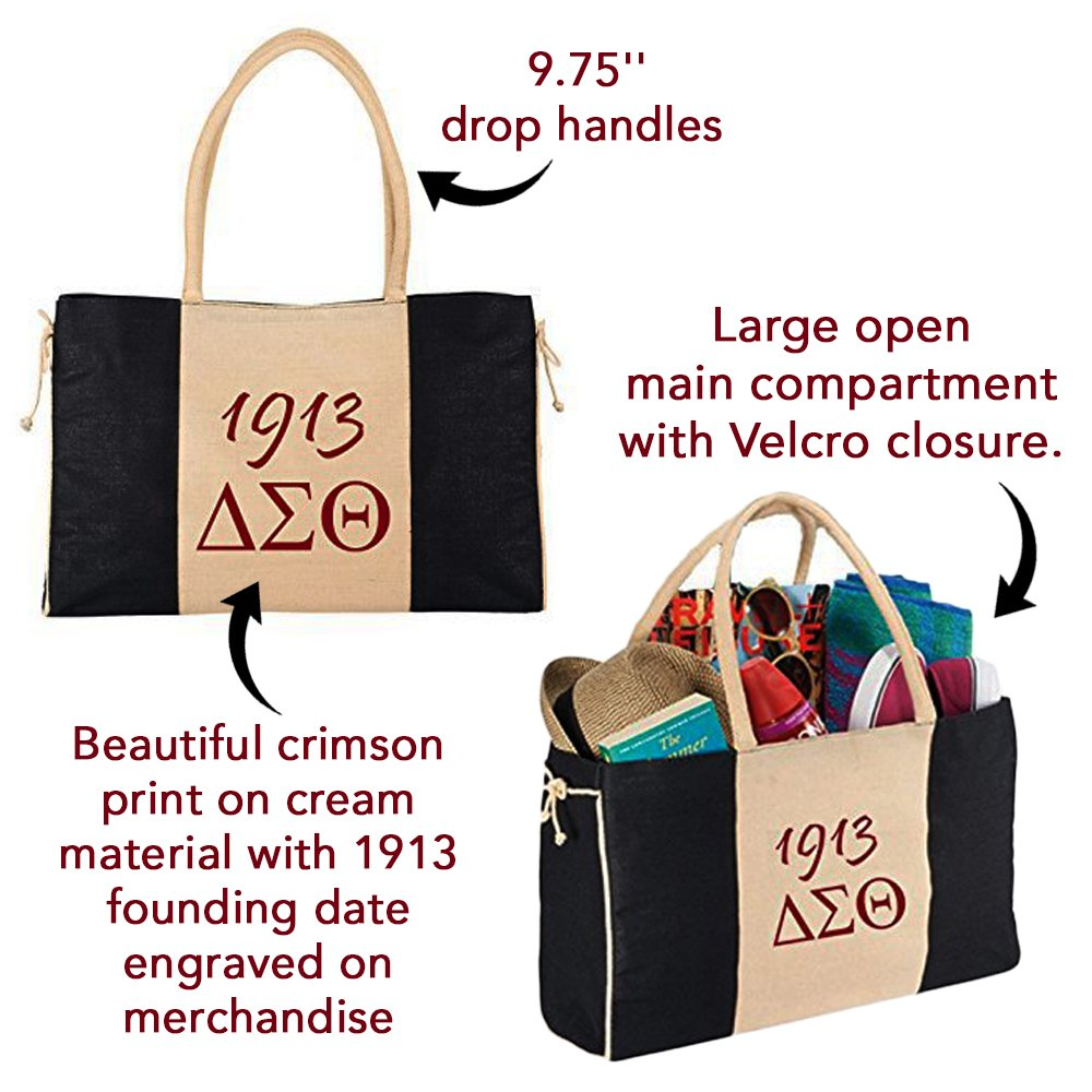Delta Sigma Theta Sorority Tote Bag by bcdc (Image #4)