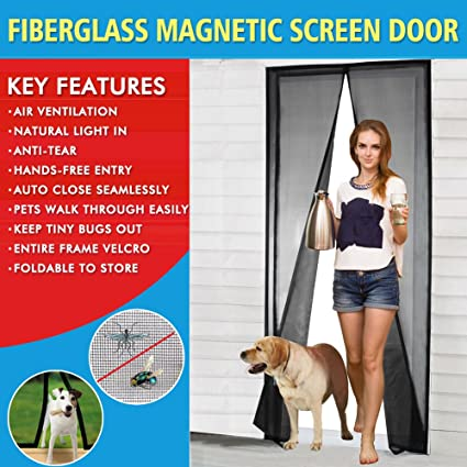 Screen door fiberglass mesh screen door with magnets fly magnetic screen door fiberglass mesh screen door with magnets fly mosquitos bug insect screen for sliding glass planetlyrics