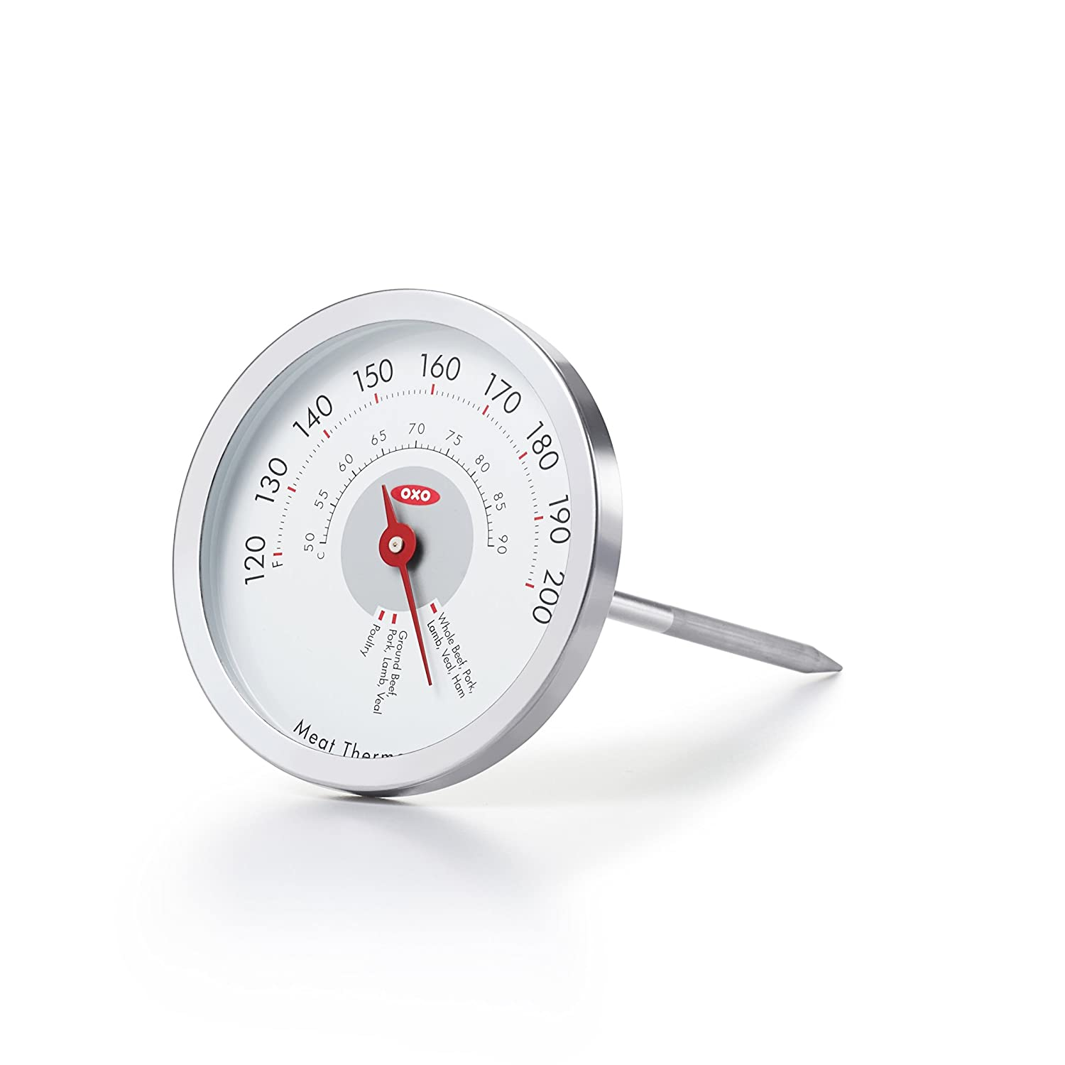 OXO Good Grips Chef's Precision Analog Leave-In Meat Thermometer