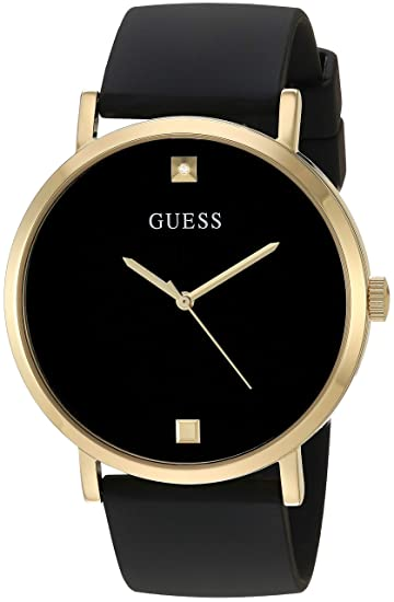 Amazon Com Guess Men S Stainless Steel Japanese Automatic