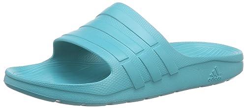 new styles 2ce62 83ddb Adidas Duramo Slide, Ciabatte da Unisex Adulto, Verde (VerimpVerimpVerimp