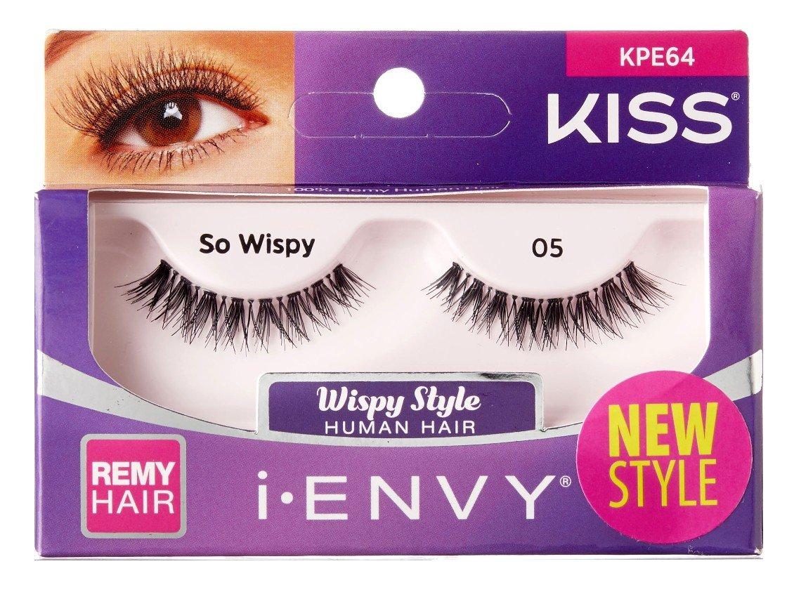 9e1825c391c Amazon.com : Kiss I Envy So Wispy 05 Lashes (6 Pack) : Beauty