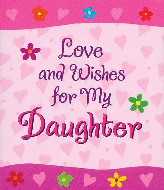 /'My Darling Daughter/' Poem Inspirational Love A4 Large Print Keepsake