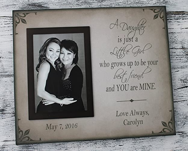 Amazoncom 10x12 Canvas Mother Of Bride Picture Frame Handmade
