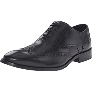 Cole Haan Men's Williams Wingtip Oxford, Black, 10 W US