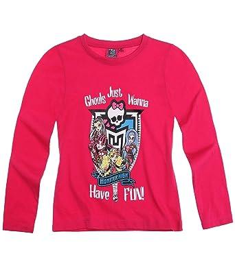 Maglietta Ragazze LamponeAmazon Monster High Maniche Lunghe it xBoCed