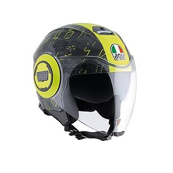 AGV J4811A0G0002 Casco de moto Fluid E2205 Top, multicolor 4 multicolor
