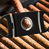 Guillotine Cigar Cutter V-Cut Stainless Steel