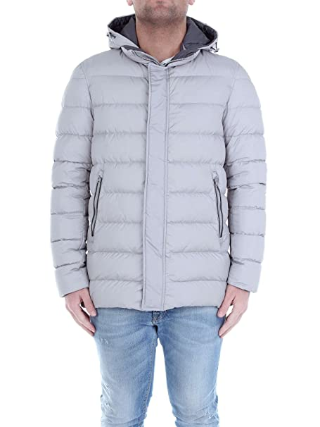 HERNO PI0364U12004 chaqueta Hombre Gris claro 52: Amazon.es: Ropa y accesorios