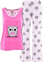 Mentally Exhausted Juniors Who Loves You Owl Pajamas