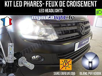Kit Bombillas de faros con led H7 alta performance para Volkswagen Amarok: Amazon.es: Coche y moto