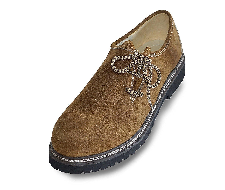 Waller Trachtenmoden - Zapatos de Cordones de Piel para Hombre ...
