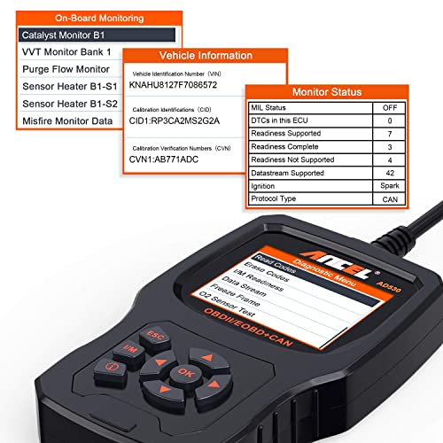 Ancel AD530: Premium Features OBD2 Scanner Review - OBD Station