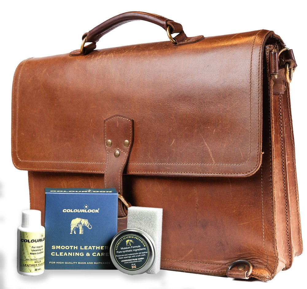 Colourlock Leather Handbag Cleaner & Polishing kit - Ideal kit to Clean, Polish and Protect Bags by Colourlock (Image #6)