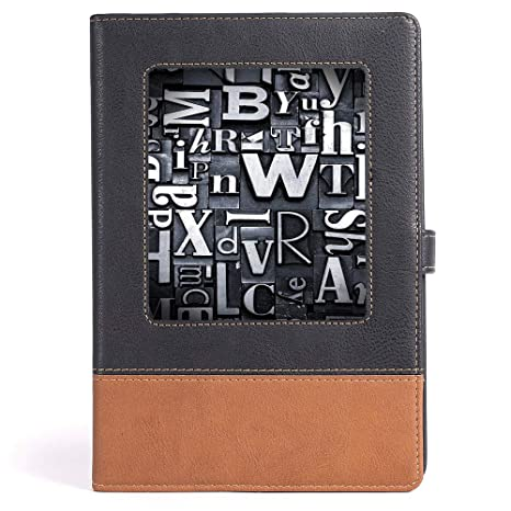 Amazon com : Portable Notebook - Old Newspaper Decor
