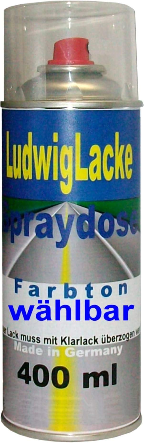 Ludwiglacke Grigio Alluminio 611 A Für Fiat Spraydose Autolack 400ml Auto
