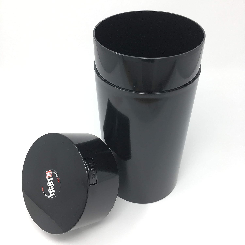 Black Tightvac Tous Dans Un Ensemble Vide Pots odeur preuve Récipient Hermétique de Conservation