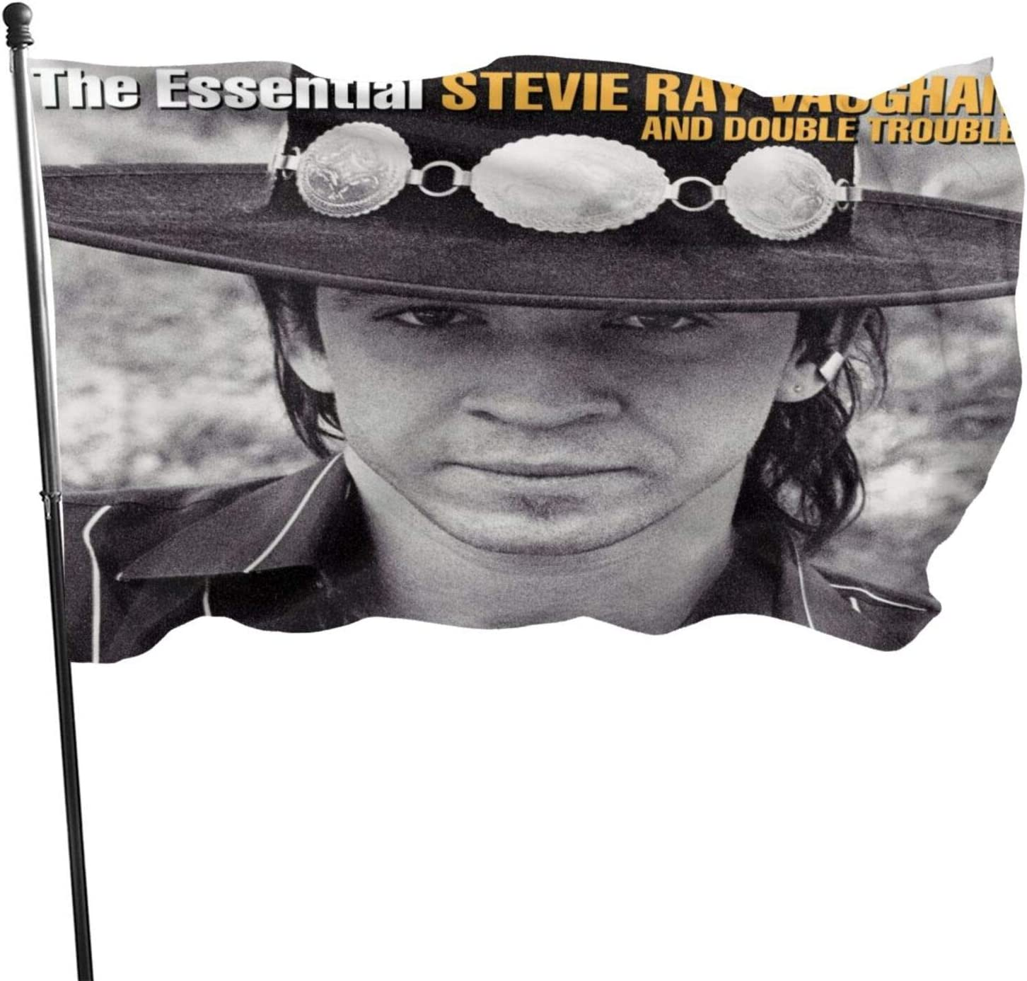 JaoStep Stevie Ray Vaughan The Essential Fashion Garden Flag New Welcome Banner Home Decorative Party Flags One Size