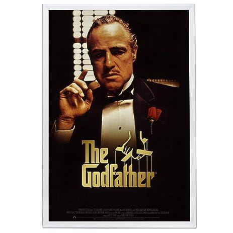 Amazon.com: Movie Poster Frame 27x41 Inches, White SnapeZo 1.25 ...