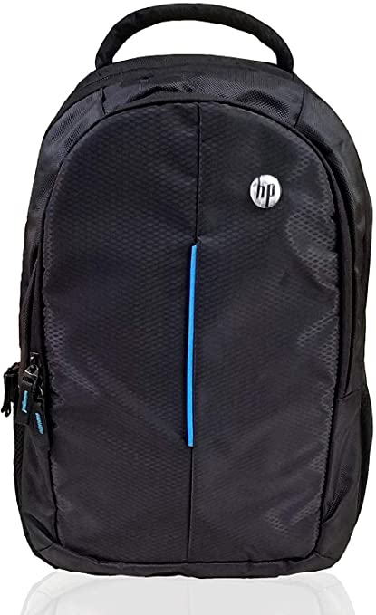 HP Entry Level Backpack for Upto 15.6 Inch Laptops  Black  Casual Daypacks