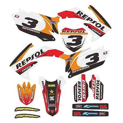 JFG Racing Personalizado Motocicleta Pegatinas Adhesivas ...