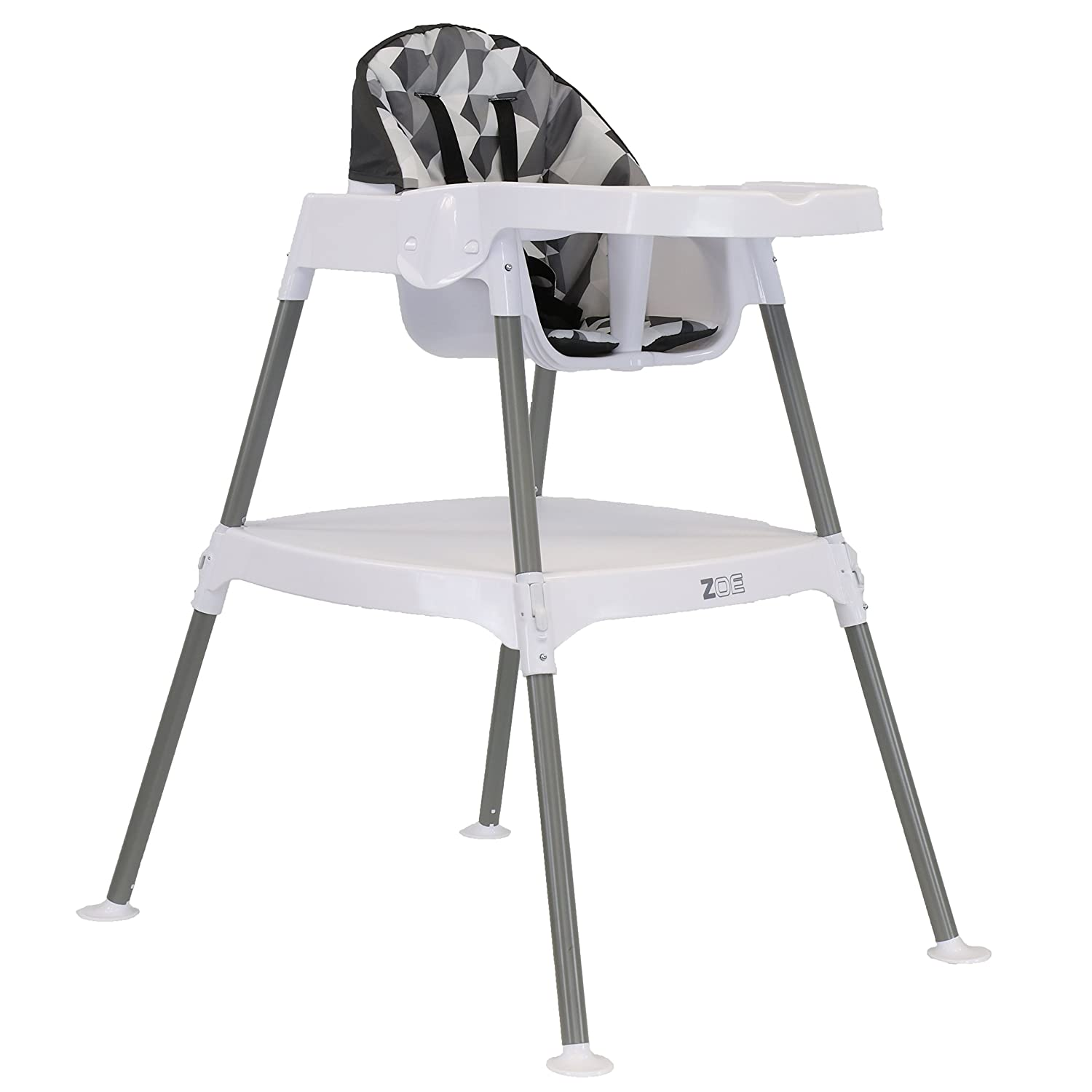 ZOE High Chair (5-in-1 High Chair, Aqua)