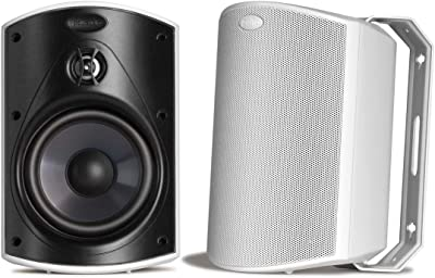 Polk Audio Outdoor Speakers With Powerful Bass