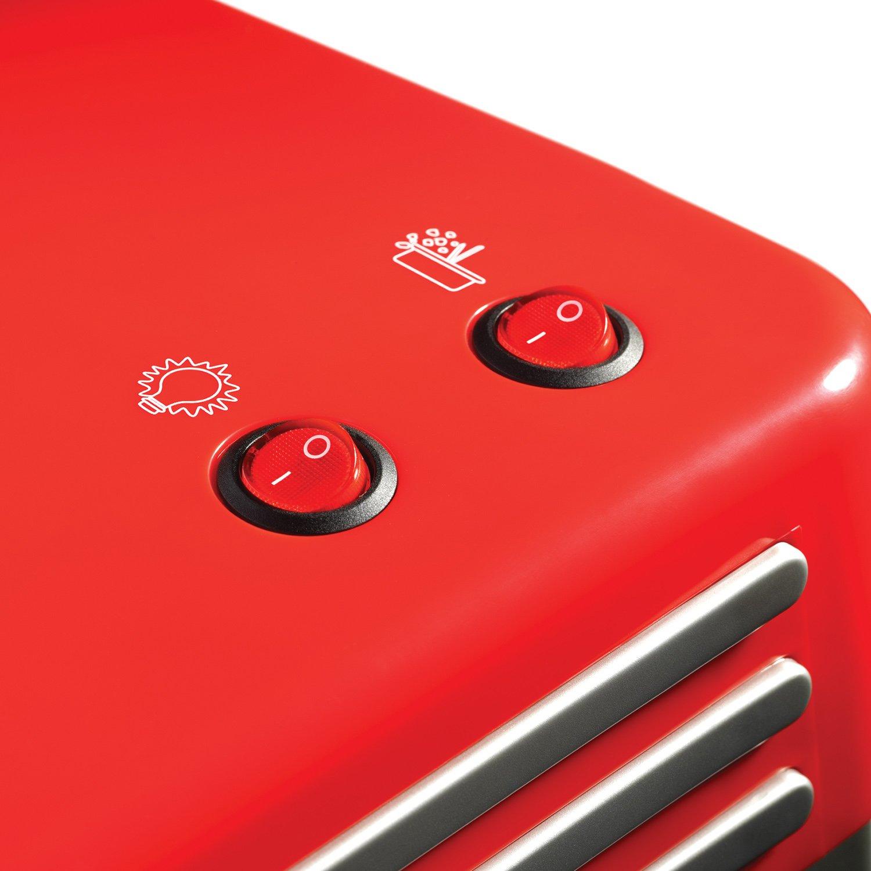 Nostalgia Electrics RKP630COKE Rojo, Plata, Blanco palomitas de maiz poppers - Palomitero (304,8 x 254 x 495,3 mm, 862 g): Amazon.es: Hogar