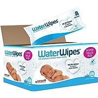 WaterWipes Sensitive and Newborn Skin Baby Wipes, Fragrance free, Super Value Box 9 Packs (540 Wipes)