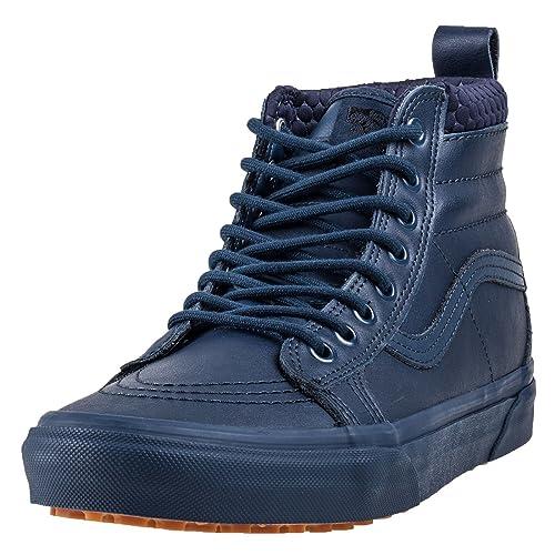 91a6abf6cd Vans Sk8 Hi MTE Mens Trainers Dress Blue - 8.5 UK  Amazon.co.uk  Shoes    Bags