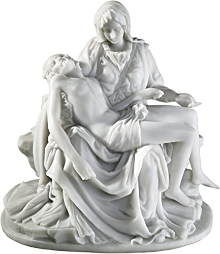 Design Toscano The Pieta 1499 Bonded Marble Medium Statue