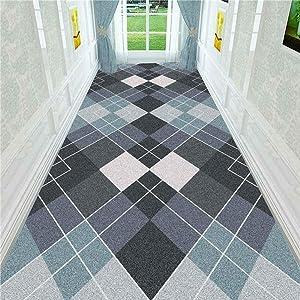 KFEKDT 3D Stereo Printing Corridor Carpet Area Rugs Living Room Carpets Kitchen Bathroom Anti-Skid Floor Mat Home Decorative A4 80x200cm