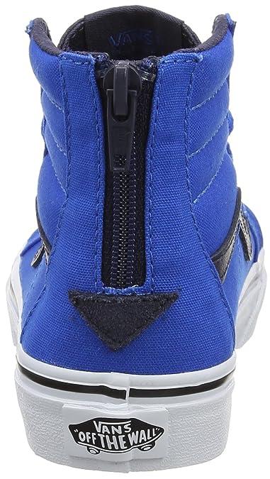 Vans Jungen UY Sk8-Hi Zip Hohe Sneakers, Blau (Canvas Imperial Blue/Parisian  Night), 34 EU: Amazon.de: Schuhe & Handtaschen