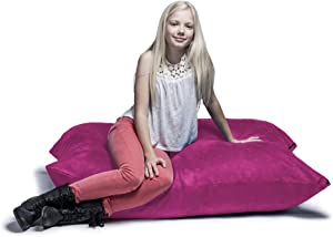 Jaxx 3.5 ft Pillow Saxx Kids Bean Bag, Fuchsia