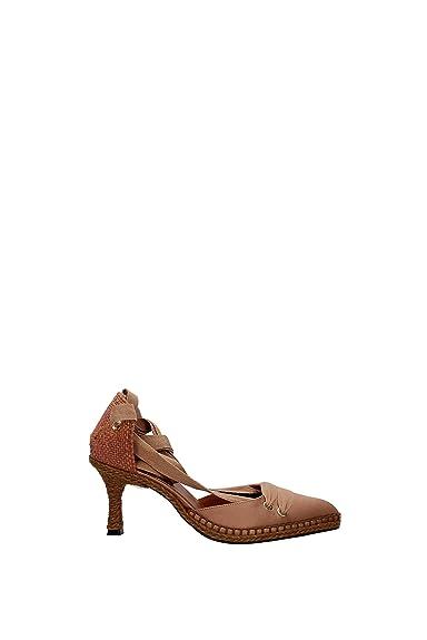 81570c6b8f72a5 Castañer Sandales Manolo blahnik Femme - Tissu (020475) EU: Amazon.fr:  Chaussures et Sacs