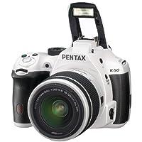 Pentax K-50 Cámara Réflex Digital, Impermeable, Color Blanco