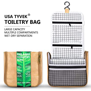 195fe38ff3 Amazon.com  Hanging Toiletry Bag for Men and Women
