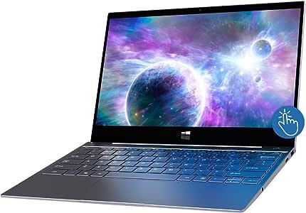 "XIDU 12.5"" Tour Pro Touchscreen Laptop with Backlit Keyboard   2.5K(2560X1440) IPS   Fingerprint   Intel 3867U Processor   8GB DDR3+128GB SSD   Win10 Home for On-The-Go (12.5 Gray SSD)"