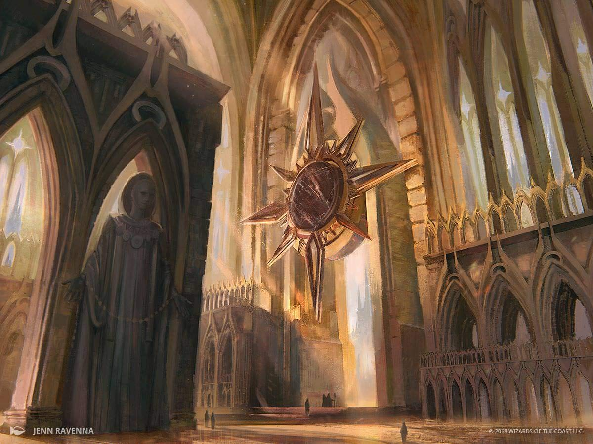 Magic the Gathering kaartspellen Godless Shrine