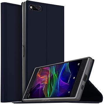 iBetter Funda Razer Phone, Slim Flip Cover Carcasa Cubierta de ...