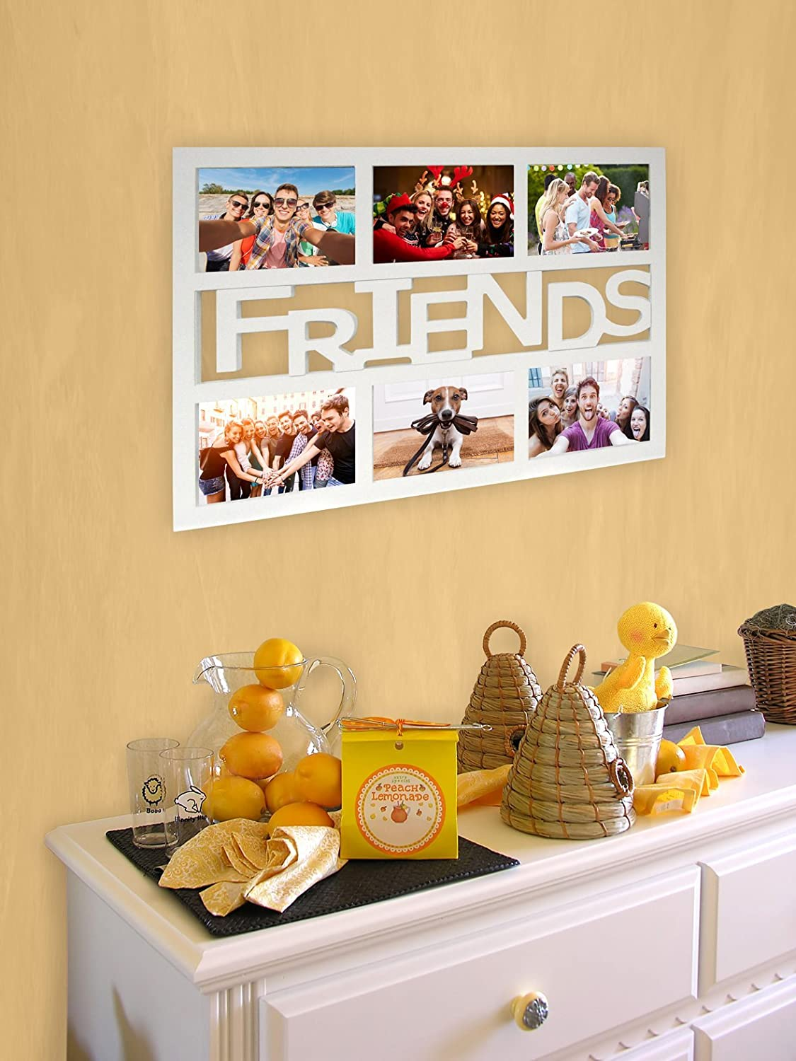 Amazon.de: Empireposter - Collage Bilderrahmen Friends - Kunststoff ...