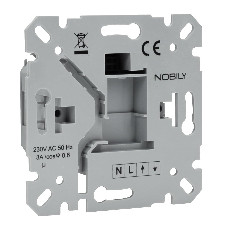 * NOBILY ZS2/Programmateur pour volets-Minuteur pour volet roulant avec fonction Astro Moteur tubulaire pour volet roulant automatique 231.00V