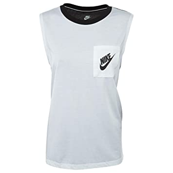 7d11f6471 Nike Women's W Nsw Signal Tank Mscl Tight Top: Amazon.co.uk: Sports ...