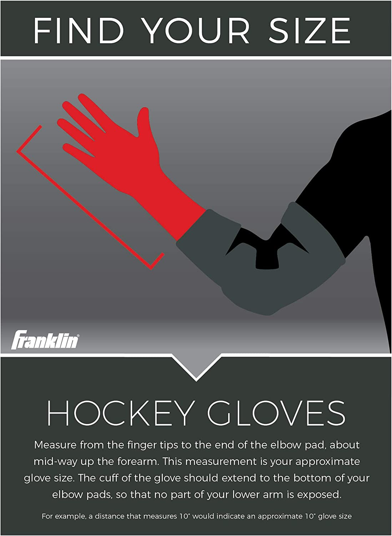 Franklin Sports Hockey Gloves - 13 Inch - NHL - HG 1500 : Sports & Outdoors