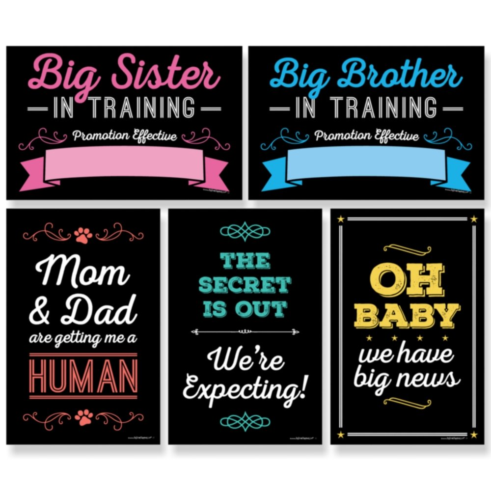 Big Dot Happiness Pregnancy Announcement Image 2