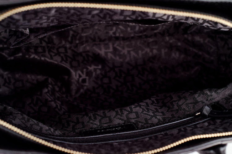 DKNY Womens Gansevoort Bag Quilted Satchel Tote Handbag Purse Black: Handbags: Amazon.com