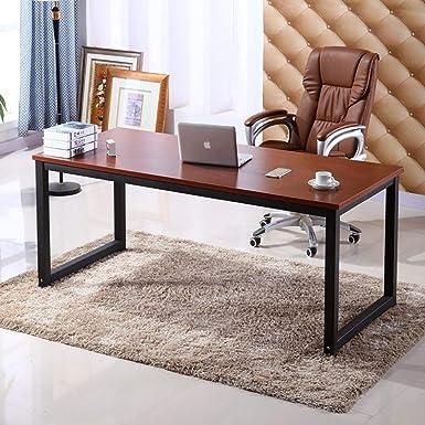 Escritorio para oficina en casa, escritorio de escritura de 63 ...